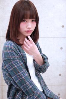 ☆ナチュラルセミディ|GALLARIA Elegante 春日井店のヘアスタイル