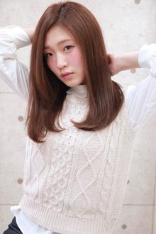 ☆さらさらストレートセミディ|GALLARIA Elegante 春日井店のヘアスタイル