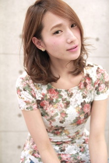 ☆カジュアルフレンチミディ|GALLARIA Elegante 春日井店のヘアスタイル