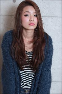 ☆暗髪ロングレイヤー GALLARIA Elegante 春日井店のヘアスタイル