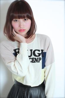☆愛されひし形ミディアム GALLARIA Elegante 春日井店のヘアスタイル