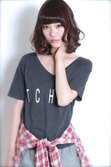 ☆ラフ×艶♪甘辛MIXボブ GALLARIA Elegante 春日井店のヘアスタイル