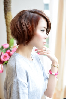☆絶壁解消ショート|GALLARIA Elegante 春日井店のヘアスタイル