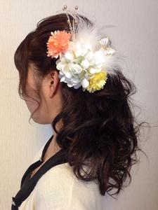 ハーフアップ☆|GALLARIA Elegante 春日井店のヘアスタイル