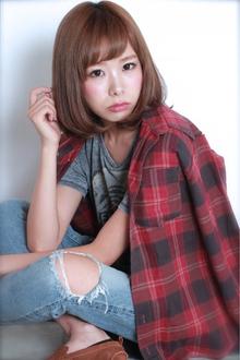 ☆小顔ひし形ワンカールボブ|GALLARIA Elegante 春日井店のヘアスタイル