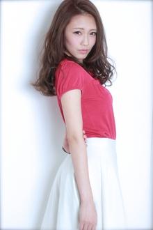 ☆暗髪×外国人風セミロング|GALLARIA Elegante 春日井店のヘアスタイル
