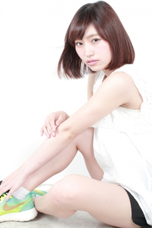 ☆大人可愛いカジュアル艶ボブ|GALLARIA Elegante 春日井店のヘアスタイル