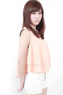 ☆ナチュラル可愛いストレート|GALLARIA Elegante 春日井店のヘアスタイル