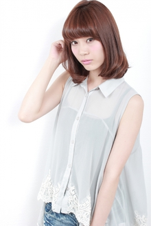 ☆甘辛MIXワンカールボブ|GALLARIA Elegante 春日井店のヘアスタイル