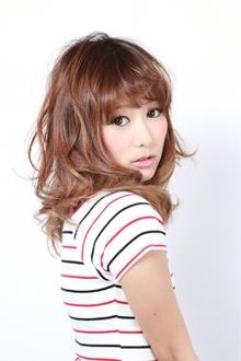 かわいい小顔フェミニンカール-cute-|GALLARIA Elegante 春日井店のヘアスタイル