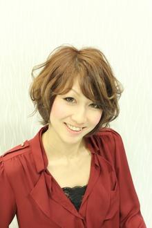 ゆるはねショートボブ-natural-|GALLARIA Elegante 春日井店のヘアスタイル