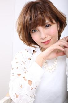 ふんわり夏ショート|GALLARIA Elegante 春日井店のヘアスタイル