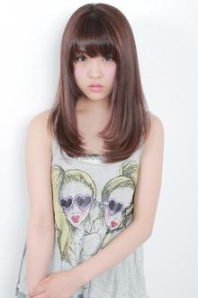 ☆ナチュラルセミロング|GALLARIA Elegante 春日井店のヘアスタイル