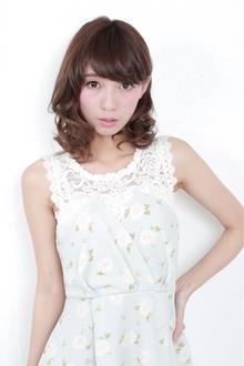 ☆耳かけ×ウェービーボブ GALLARIA Elegante 春日井店のヘアスタイル