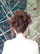 披露宴アップ|美容室 platte 坂本 輝雄のヘアスタイル