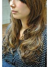 お手入れカンタンゆるふわ|美容室 OPTIONのヘアスタイル