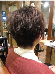 ナチュふわショート|美容室 OPTIONのヘアスタイル