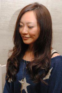 ノンジアミンカラー|美容室 OPTIONのヘアスタイル