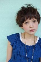 80's mix☆2way甘辛ショート!|Scrap Balanceのヘアスタイル