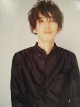 似合わせバッチリ!イノセントで癒し系パーマ☆|Scrap Balanceのメンズヘアスタイル