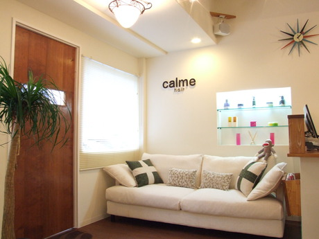 calme hair