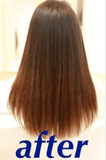 髪質改善after|Chez Moiのヘアスタイル