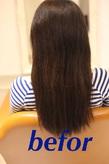 髪質改善befor2 Chez Moiのヘアスタイル