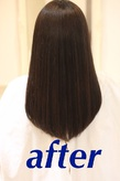 髪質改善after2 Chez Moiのヘアスタイル