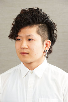 ツーブロック×メンズパーマ|美容室さかもと 本店のヘアスタイル