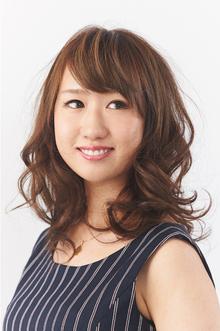 甘すぎない大人のカールセミディ|Hair Make SAMSARA 宮脇店のヘアスタイル