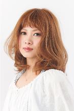 キュートな柔らかシフォンカール|Hair Make SAMSARA 宮脇店のヘアスタイル