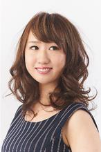 甘すぎない大人のカールセミディ|camellia HAIR イオンモール高松店のヘアスタイル