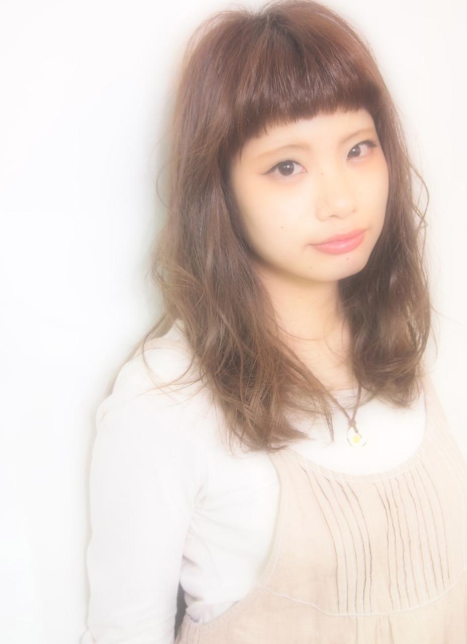 モテ髪!ショートバングフェミニン!