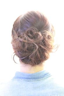 編み込みアップ|Regolith 自由が丘のヘアスタイル