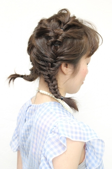 twin tail Regolith 自由が丘のヘアスタイル
