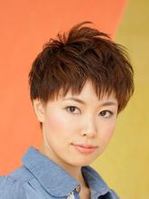 ボーイッシュカジュアルショート|美容室 Lucky Hair 南海金剛店のヘアスタイル