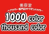 1000 color サウザンドカラー
