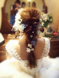 wedding ヘアセット
