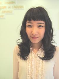 黒髪☆大人かわいい短め前髪