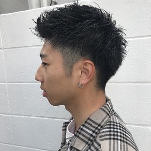 刈り上げアップバングスタイル|Hip's eyes 大宮店のヘアスタイル