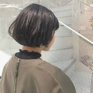 小顔ショートボブ|Hip's eyes 大宮店のヘアスタイル