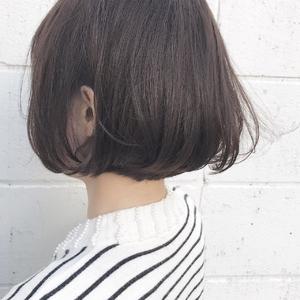 風にふかれるふんわりボブ♪|Hip's eyes 大宮店のヘアスタイル