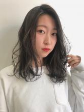 透明感ブルージュセミディ|Hip's eyes 大宮店 笠原 由利のヘアスタイル