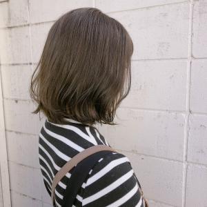 リーフアッシュロブ|Hip's eyes 大宮店のヘアスタイル