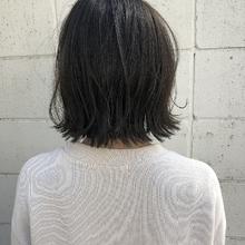 リーフアッシュボブ |Hip's eyes 大宮店 斉藤 綾孔のヘアスタイル