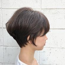 くせ毛を活かしたエミリショート|Hip's eyes 大宮店 三日尻 章登のヘアスタイル