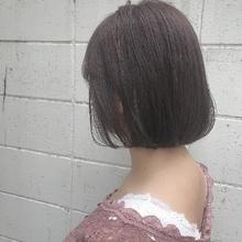 ピンクアッシュボブ|Hip's eyes 大宮店のヘアスタイル