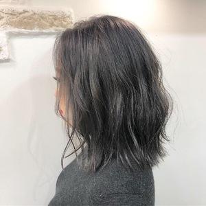パープルグレー|Hip's eyes 大宮店のヘアスタイル