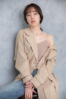 edgy medium|Hip's eyes 大宮店のヘアスタイル