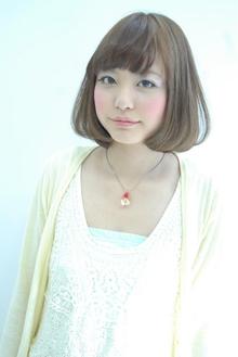 ピュアレースボブ☆ホワイトアッシュ☆ Hip's deco 大宮店のヘアスタイル